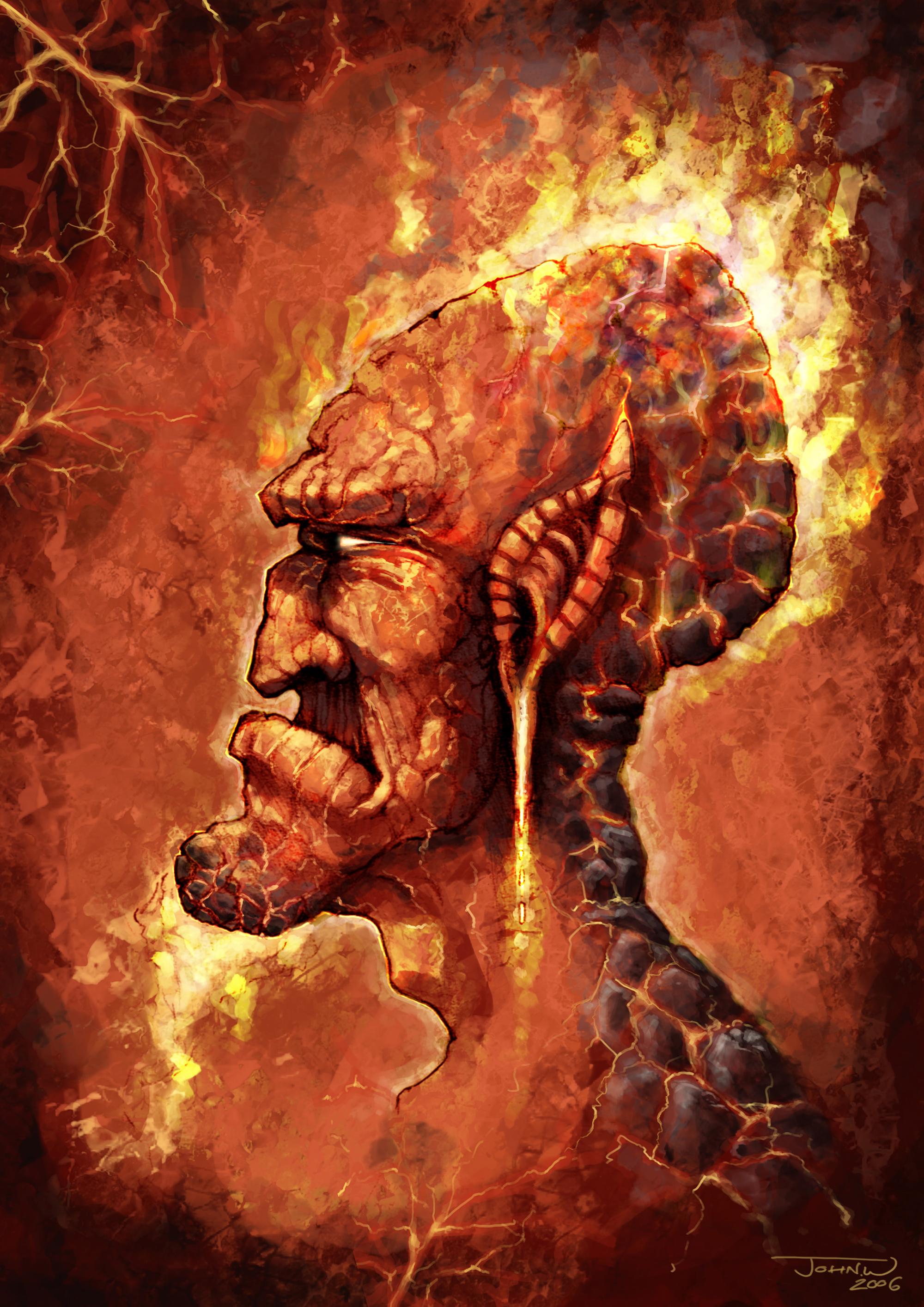 ShareHades God Of The Underworld Drawing